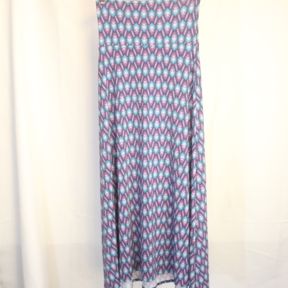 LuLaRoe Dresses & Skirts - Lularoe Women's XS Skirt Geometric Maxi